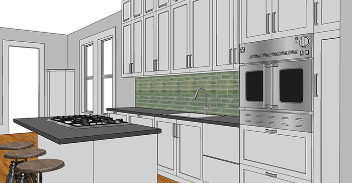 How To Sketchup Your Kitchen Nik Kinnaird